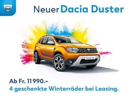 Neuer Dacia Duster inkl. 4 Winterräder*