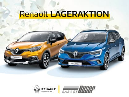 Renault Herbst Aktion