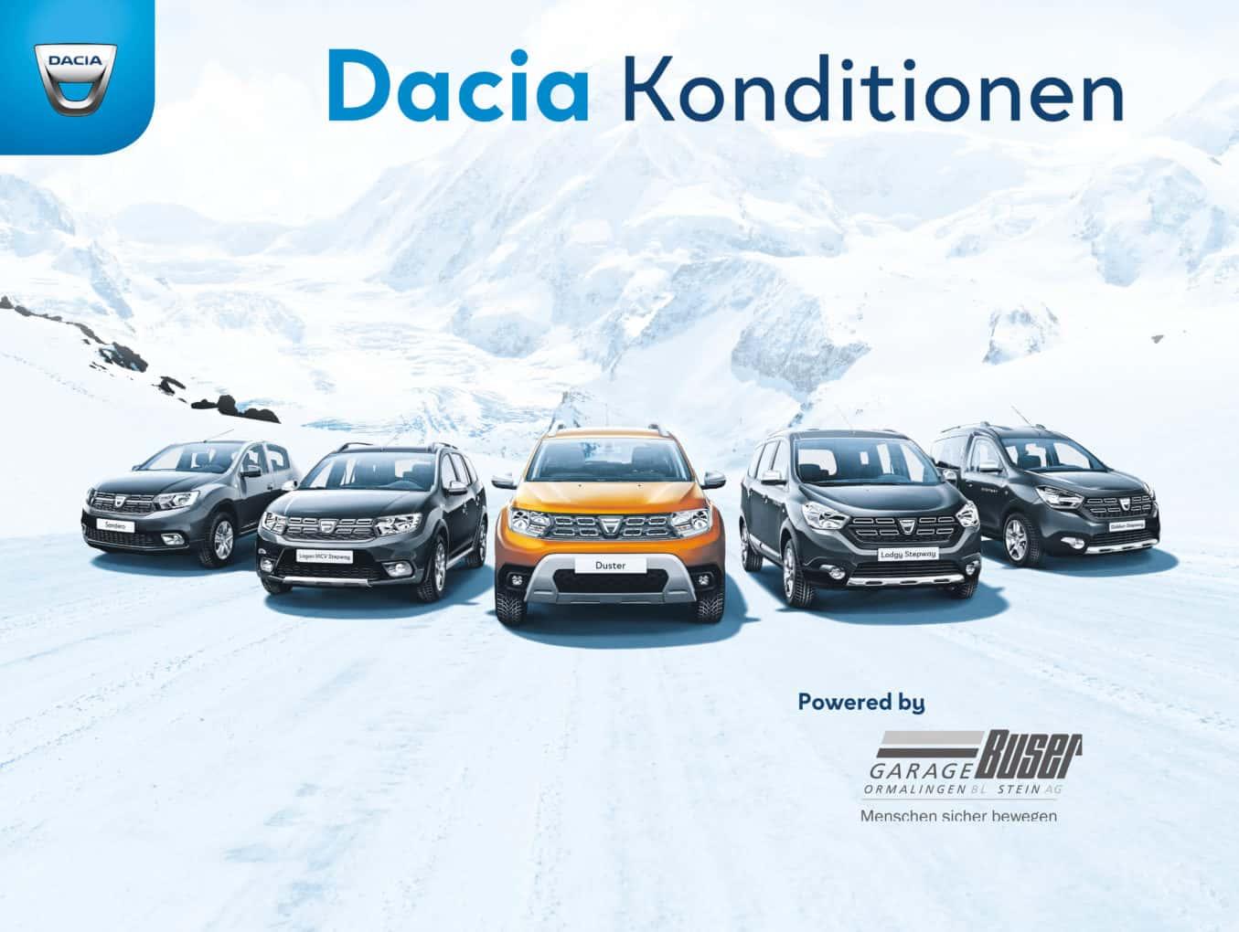 Dacia Konditionen