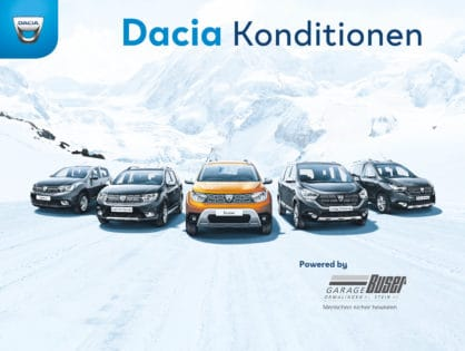 Dacia Konditionen