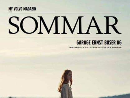 Das neue Volvo Sommar Magazin