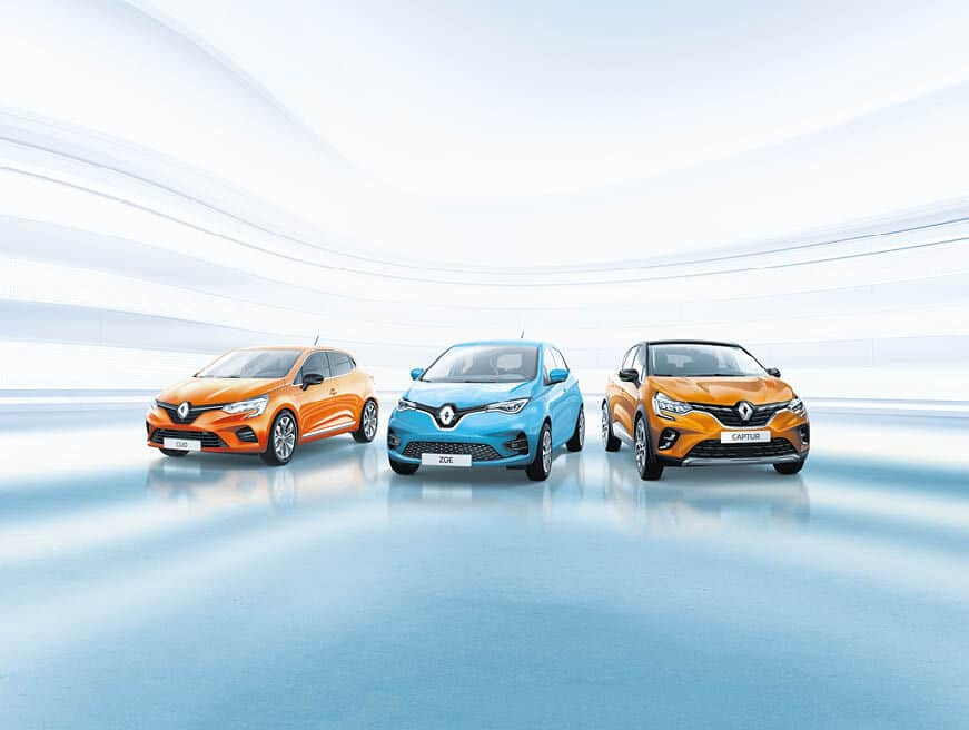 Renault und Dacia im April 2020