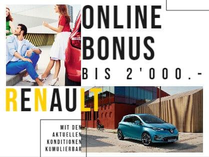 Renault Online Bonus