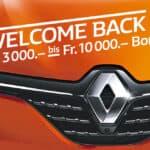 Welcome Back Bonus Verlängerung