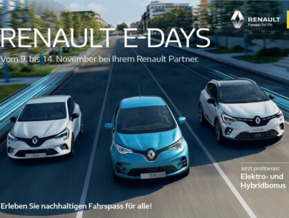 Renault E-Days im November