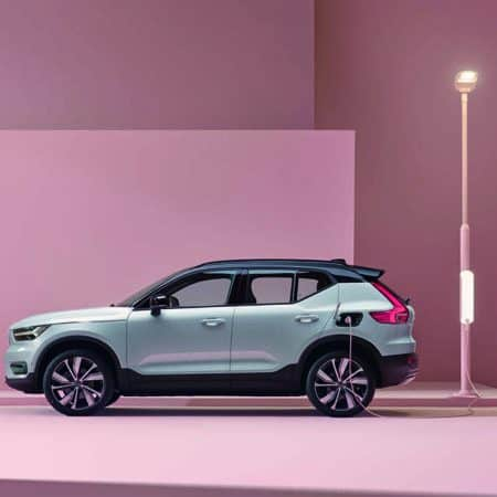 Der neue Volvo XC40 Recharge Pure Electric